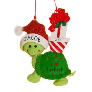 Turtle Ornaments Archives - Personalized Ornaments For You