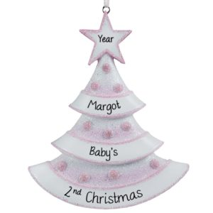 Baby's Second/Toddler Christmas Ornaments Archives - Personalized ...