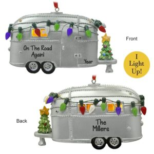 Camping Ornaments Archives Personalized Ornaments For You