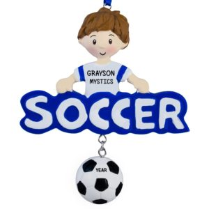 20c480be881 Soccer Ornaments Archives - Personalized Ornaments For You